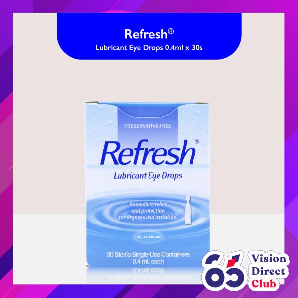 Buy Allergan Refresh Lubricant Eye Drops 0.4ml x 30s Singapore