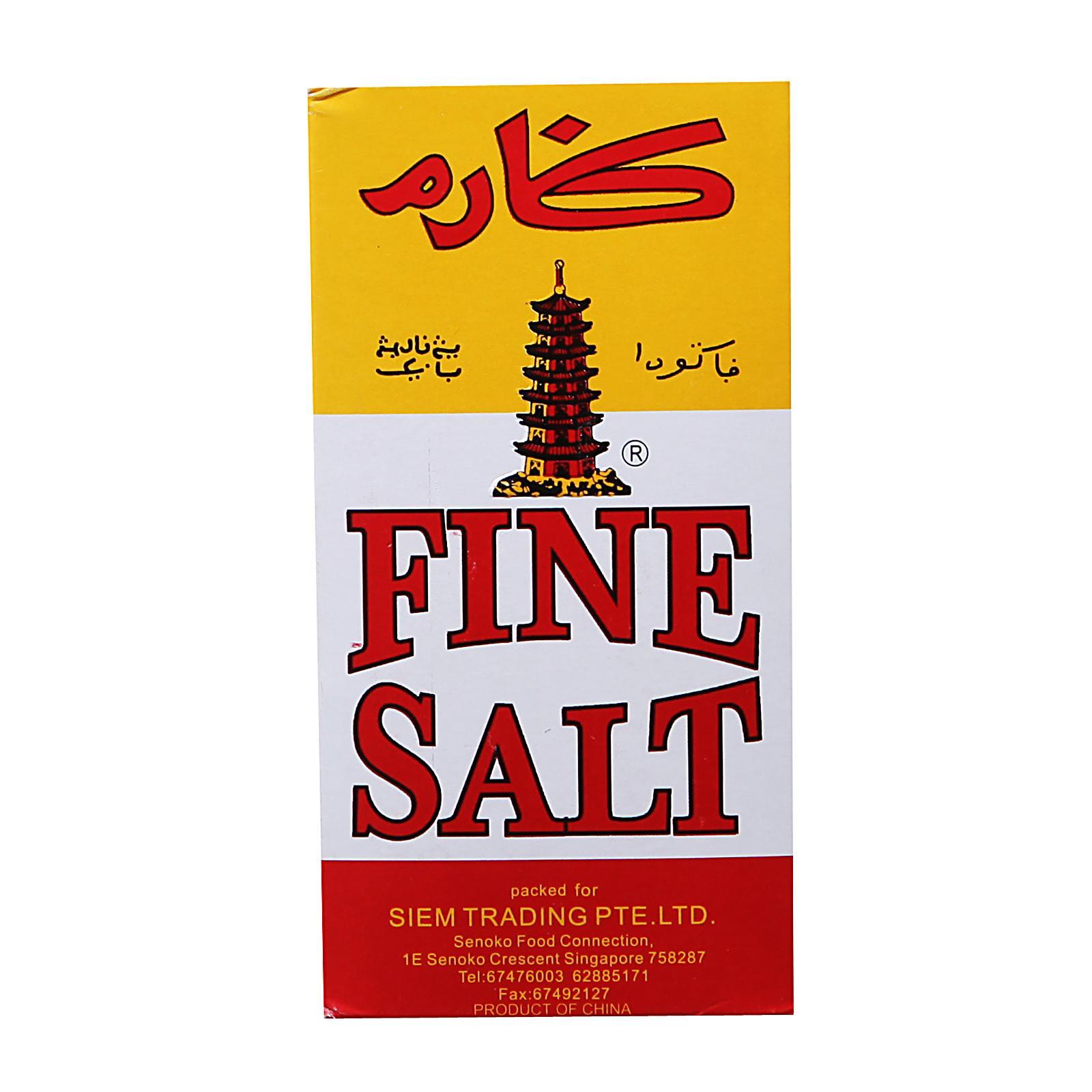 Pagoda Fine Salt - Box