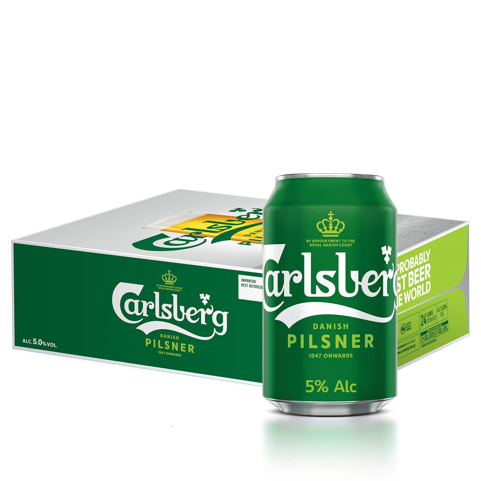 Carlsberg Lager Can - Case