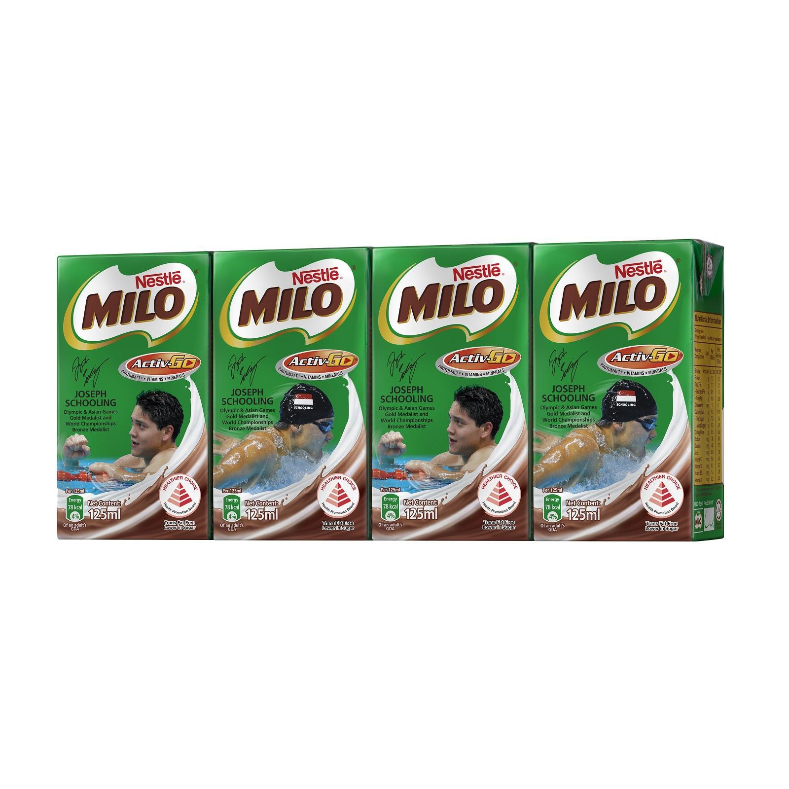 Milo Uht Chocolate Malt Packet Drink By Redmart.