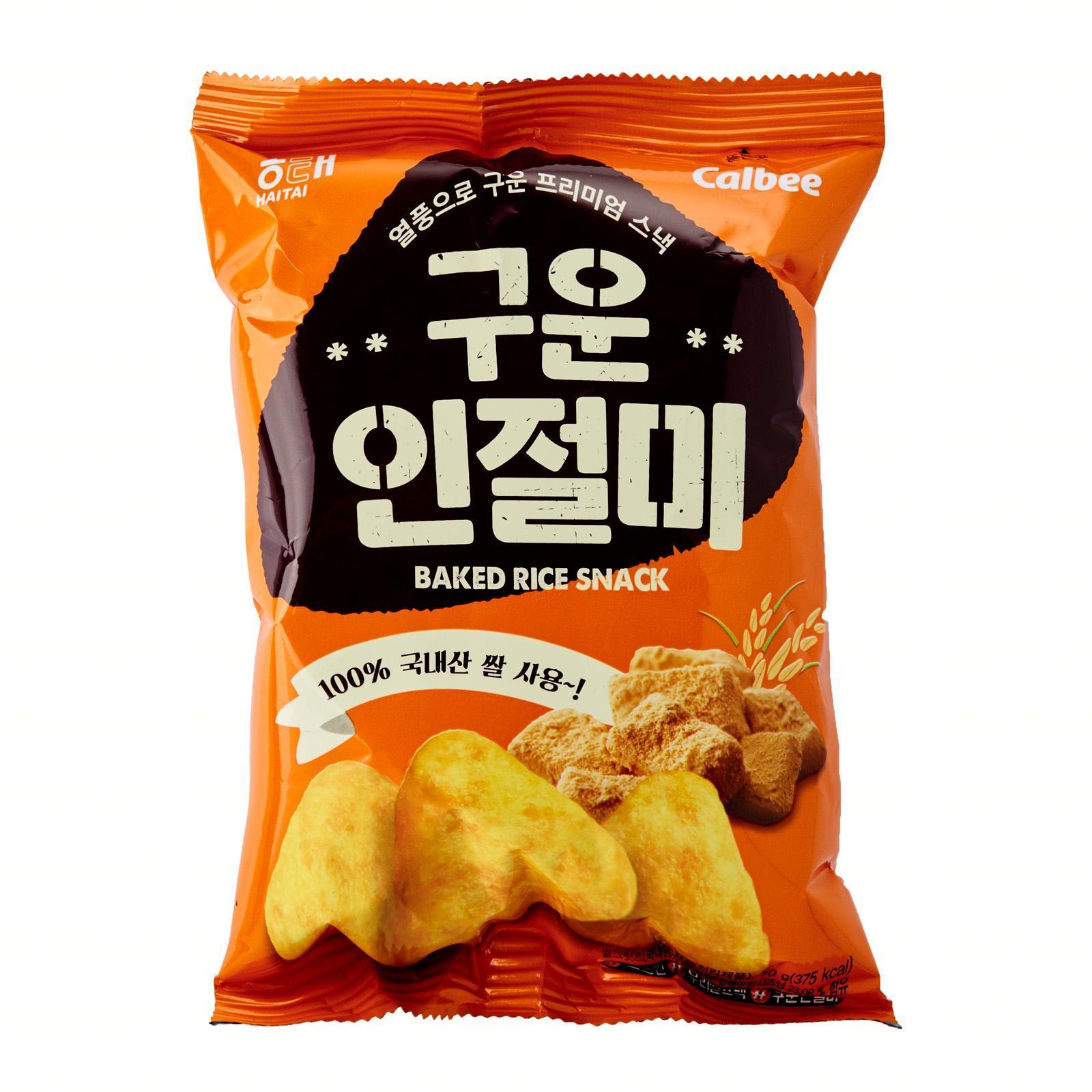 HaiTai Baked Injeolmi Rice Snack