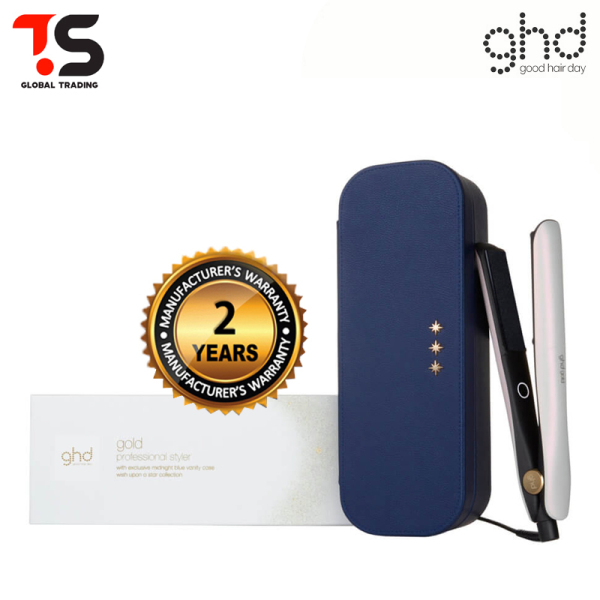 Buy 2 Years Warranty! GHD Gold Limited Edition Iridescent Pearl Straightener Styler Gift Set (With Gift Box) Singapore