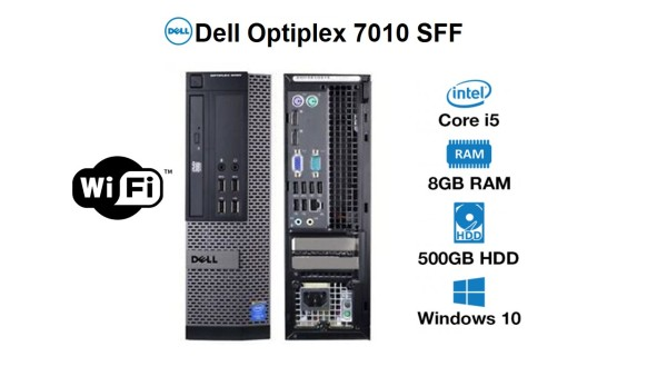 Dell Optiplex 7010 desktop SFF, i5 3rd Gen 8GB Ram 500GB (OS installed)win 10 Pro , ms office(Refurbished)