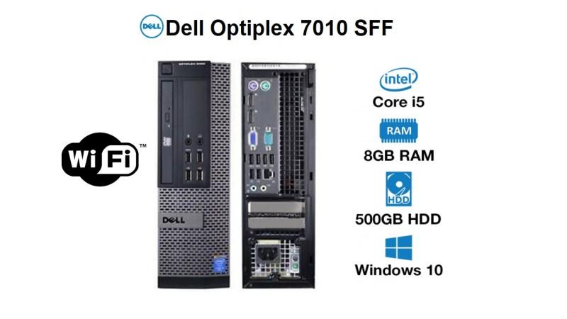 Dell Optiplex 7010 desktop SFF, i5 3rd Gen 8GB Ram 500GB (OS installed)win 10 Pro , ms office(Refurbished)