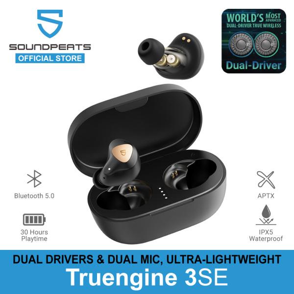 SoundPEATS TruEngine 3 SE True Wireless Earbuds With Powerful Sound, Dual Dynamic Drivers & IPX5 Waterproof Singapore