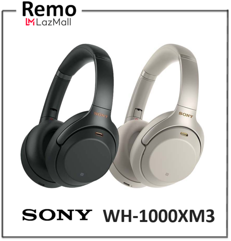 Sony WH-1000XM3 Bluetooth Over-Ear Noise Cancelling Headphones Singapore
