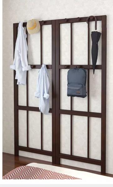 Miyaki Standing Wooden Hanger
