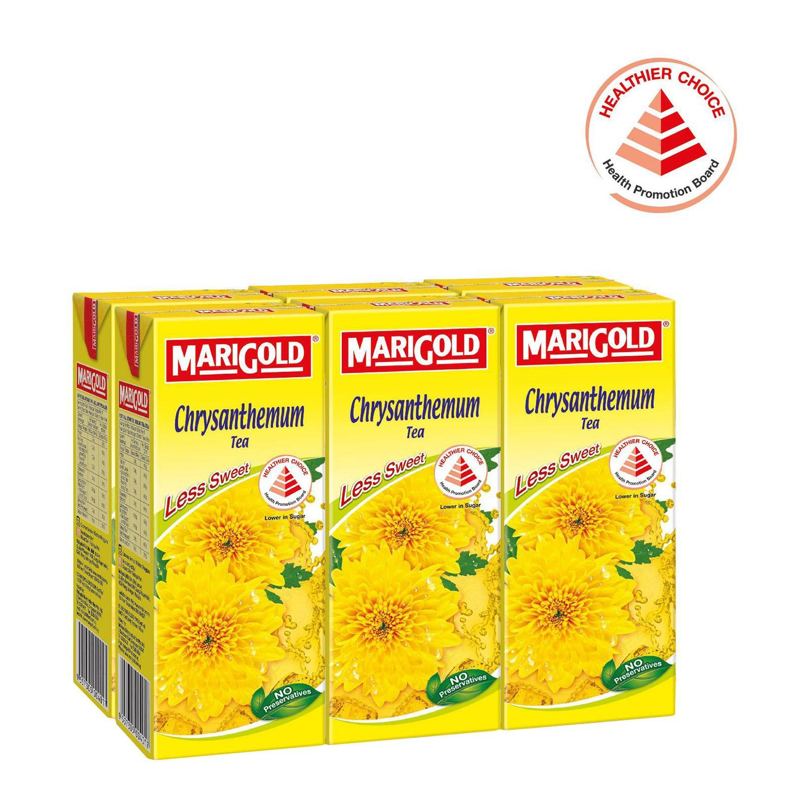 MARIGOLD Chrysanthemum Tea - Less Sweet 6sX250ml