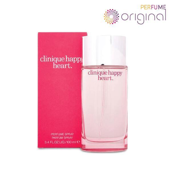 Buy [Original] [Perfume Original] Clinique Happy Heart for Women EDP Women (100ml) Perfume For Women Singapore