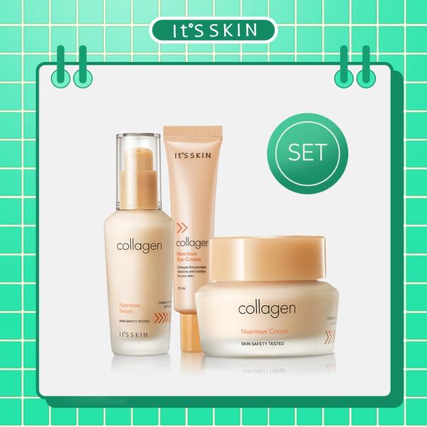 Buy ITS SKIN Collagen Nutrition Serum & Cream & Eye Cream (SET) Singapore
