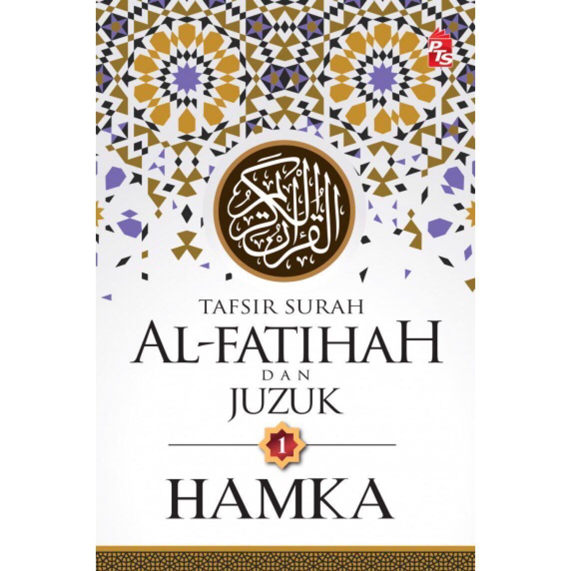 alquran Tafsir Surah Al-Fatihah dan Juzuk 1 -HAMKA