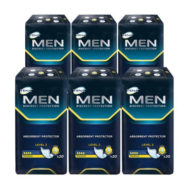 Buy TENA For Men 20sx6 Carton Singapore