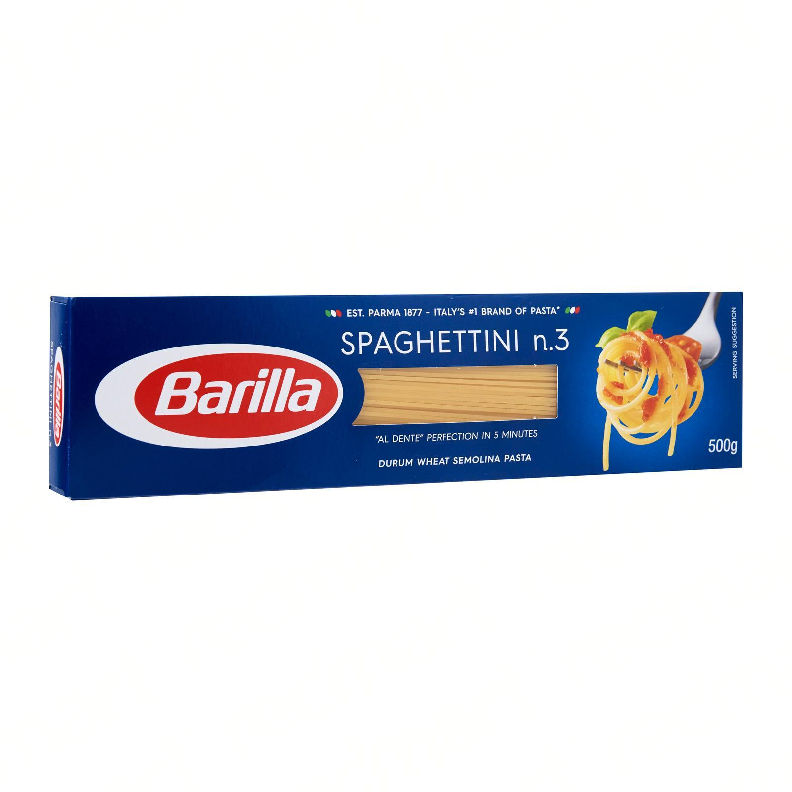 Barilla Pasta Spaghettini No.3