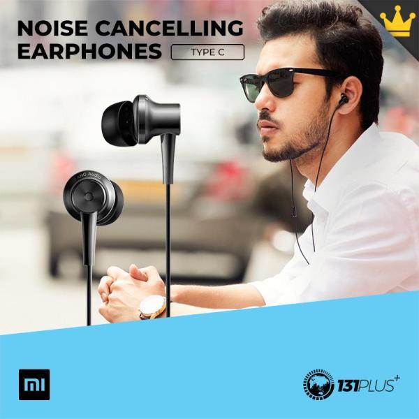 Xiaomi Mi Noise Cancelling In-Ear Headphones Type-C Singapore