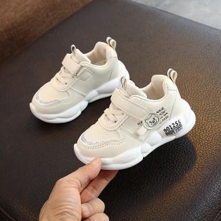 Giày Trẻ Em Giày Thể Thao Giày Thường Ngày Bé Gái 1-3-5 Tuổi Giày Chạy Bé Trai Mẫu Mới Mùa Xuân 2020 Giày Một Lớp Chống Trượt Đế Mềm thumbnail