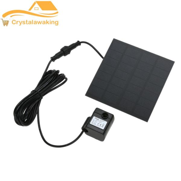 Solar Power Fountain Water Pump Panel Kit Pool Home Garden Fish Pond - intl