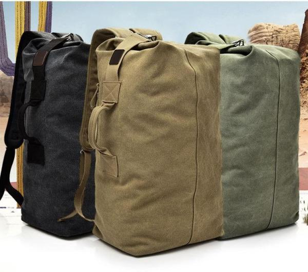 Mens Canvas Backpack Type 001