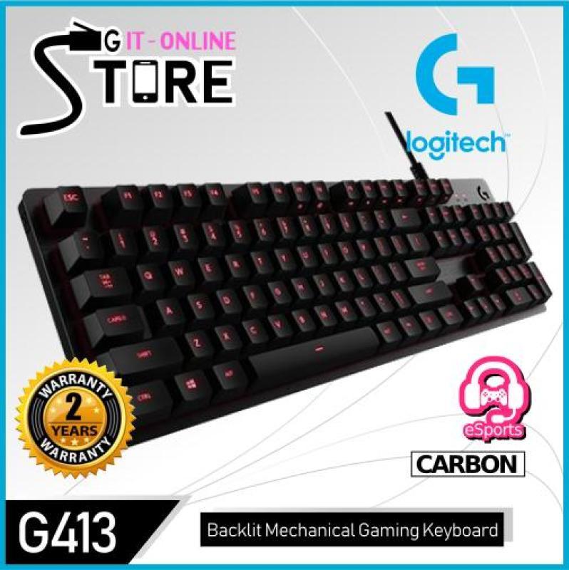 Logitech G413 Mechanical Backlit Gaming Keyboard Singapore