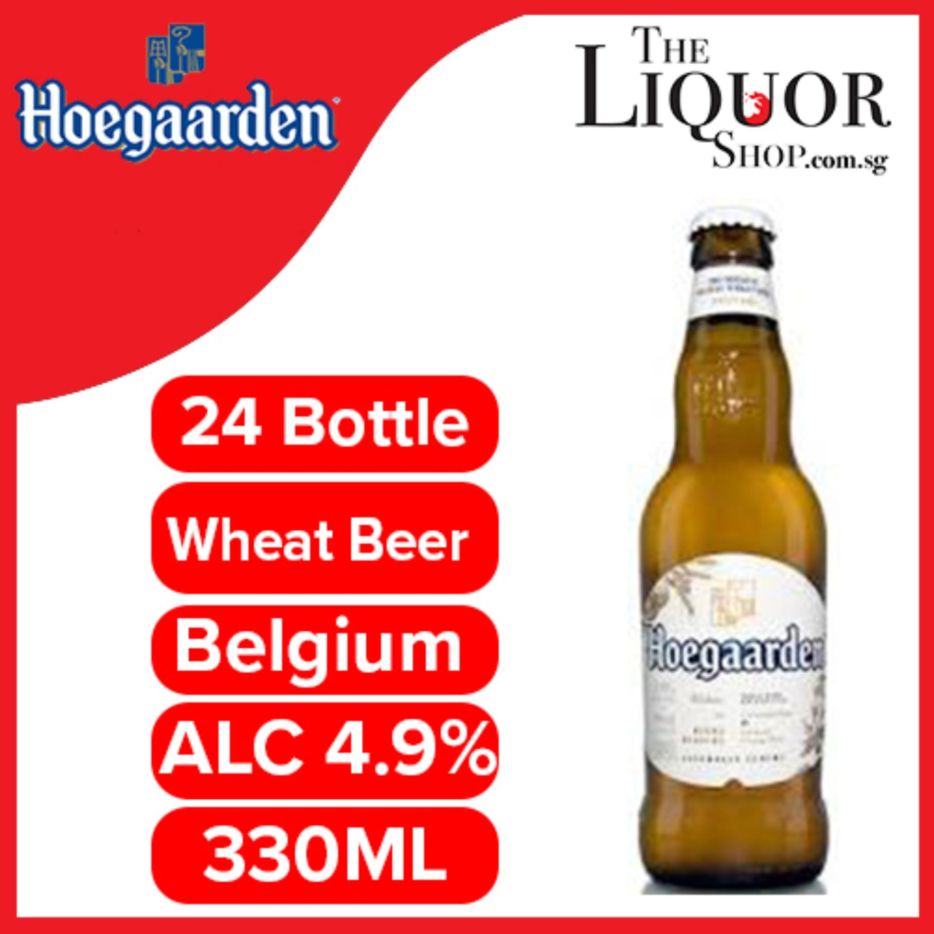 Hoegaarden Original Belgian Wheat Beer 330ml X 24 Bottles By The Liquor Shop.