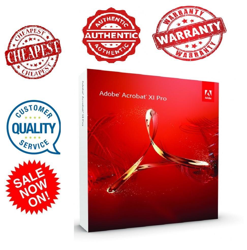 Adobe Acrobat XI Pro Digital Key Lifetime WINDOWS
