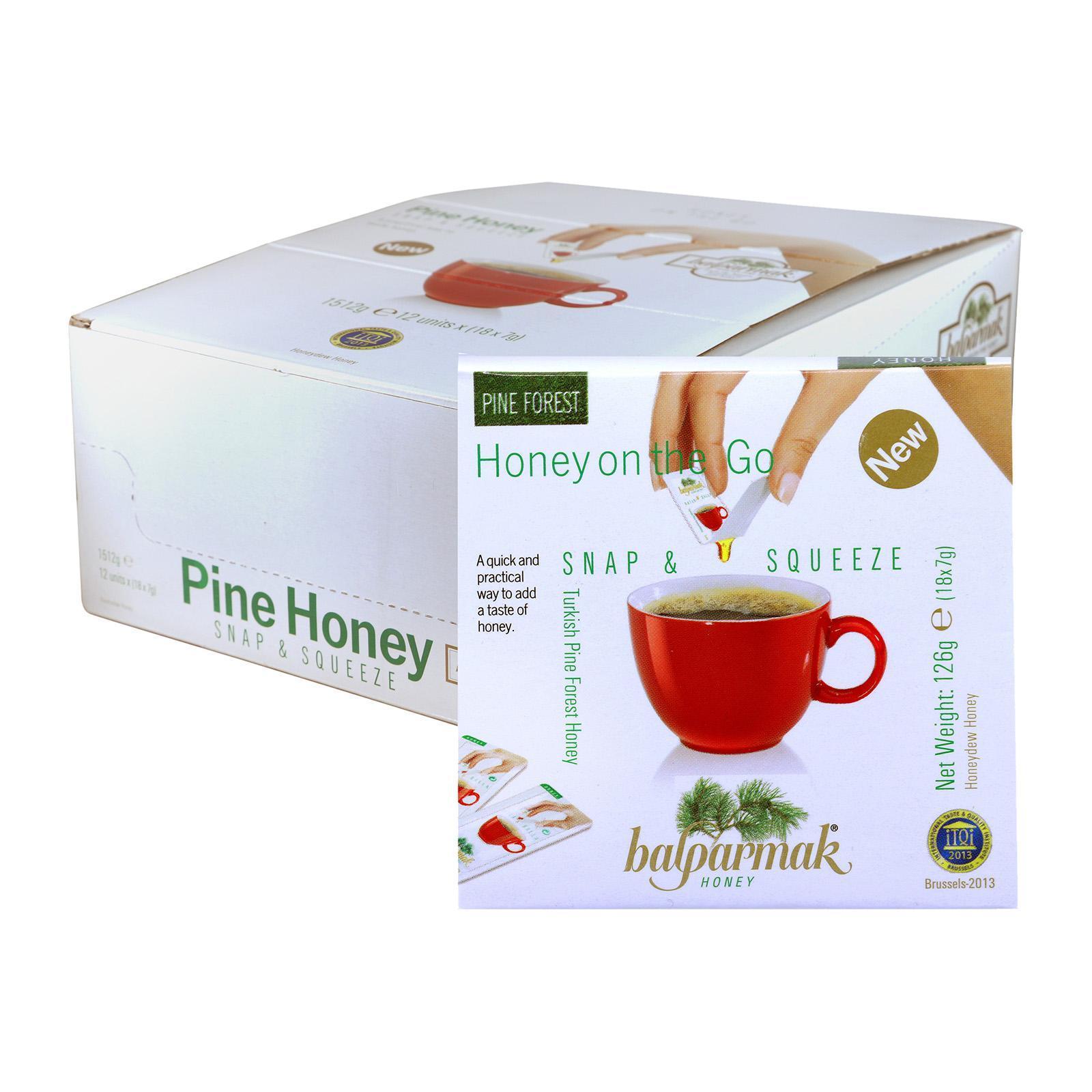Balparmak Honey Snap Packs - Case