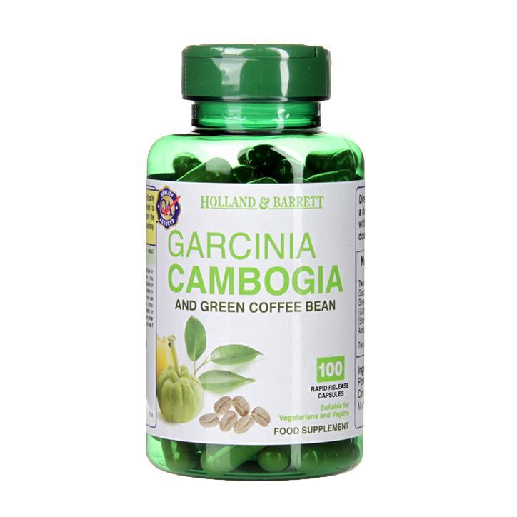 Holland Barrett Garcinia Cambogia Green Coffee Bean 100 Capsules