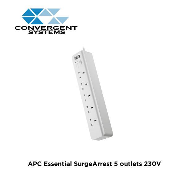 APC Essential SurgeArrest 5 outlets 230V UK PM5-UK