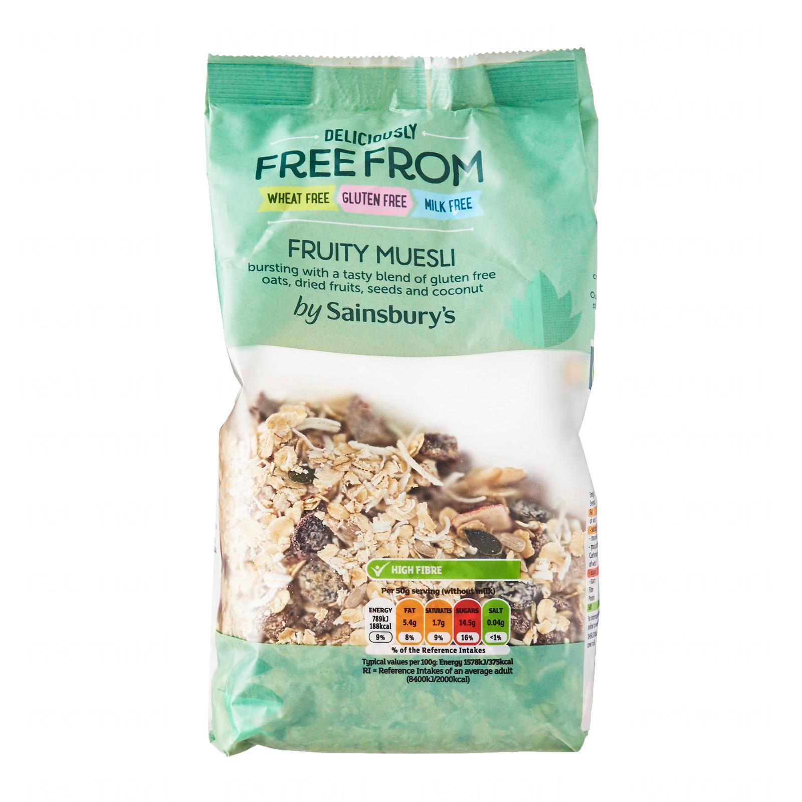 Sainsbury's Free From Fruity Muesli