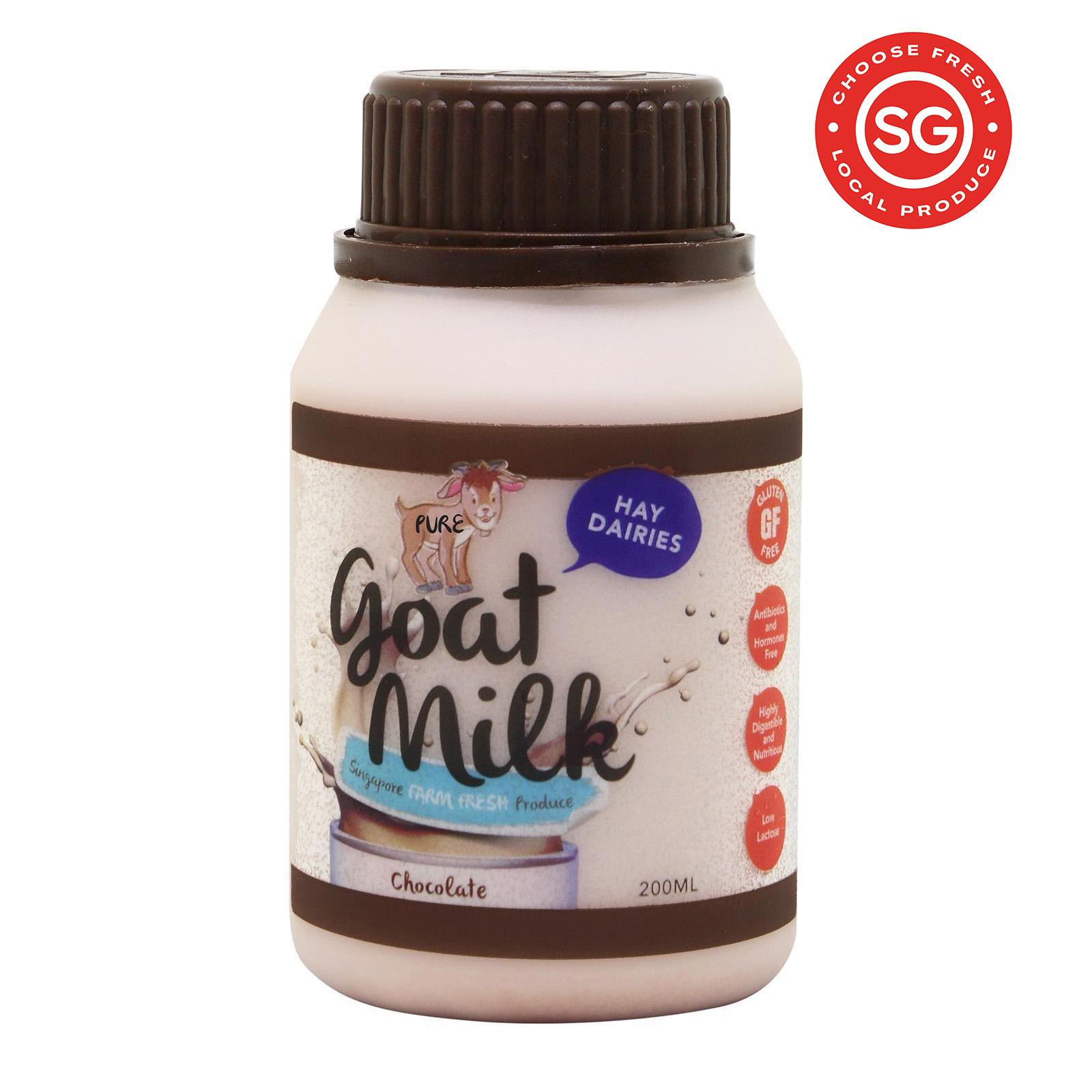 Hay Dairies Goat Milk Chocolate 200ml