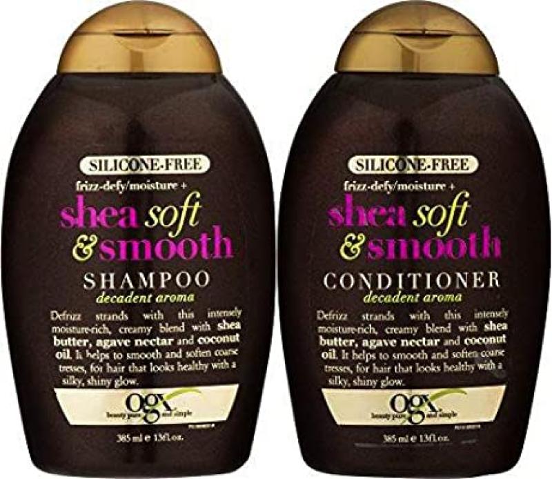 Buy (VALUE PACK) OGX Shea Soft & Smooth Shampoo+Conditioner 385ml Singapore