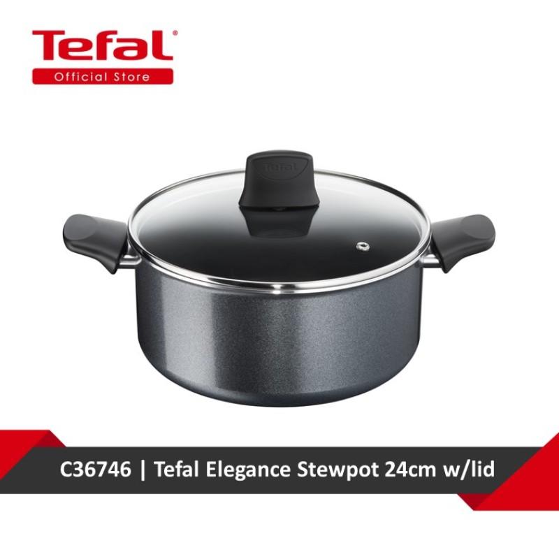 Tefal Elegance Stewpot 24cm w/lid C36746 Singapore