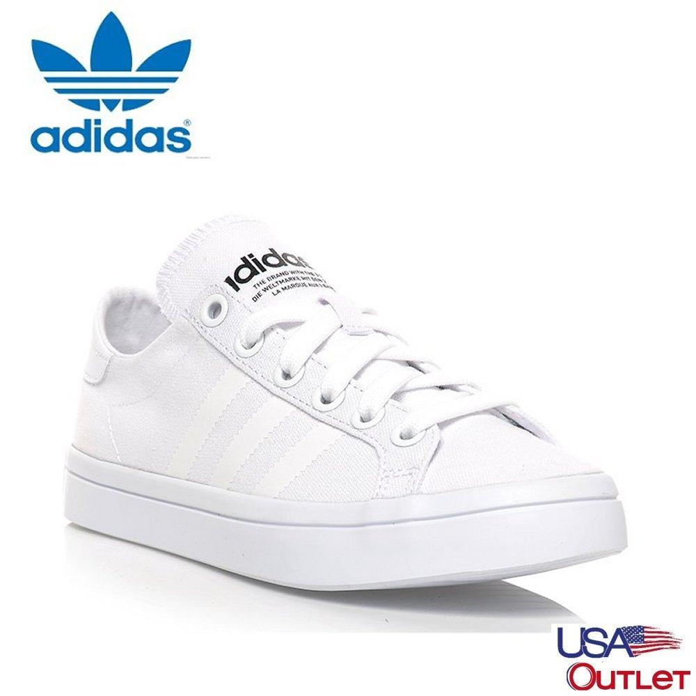 premium selection acd9d 6deb8 Adidas Unisex Originals Court vantage S78767 (White White) Casual shoes
