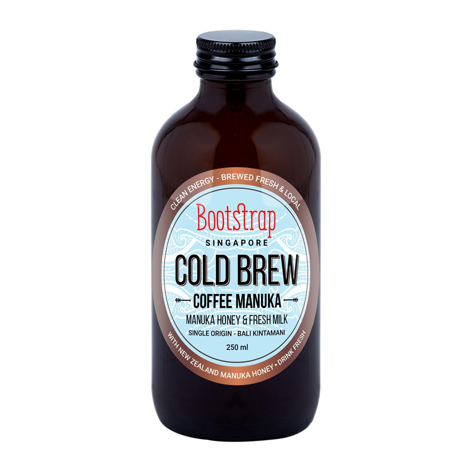 Bootstrap Cold Brew Coffee Milk And Manuka By Redmart.