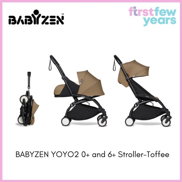 BABYZEN YOYO² 0+ and 6+ Stroller (Black Frame) [NEW VERSION] Singapore