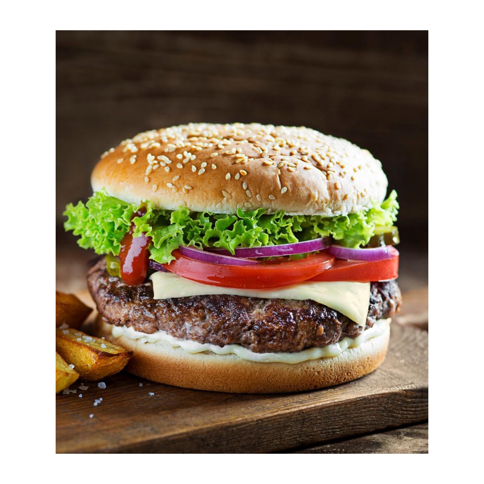 Sasha's Fine Foods Walnut Mushroom Burger - Frozen
