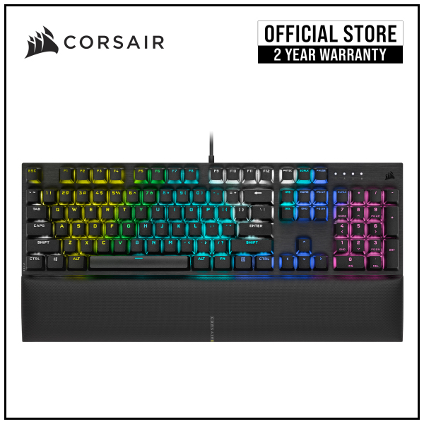 CORSAIR K60 RGB PRO SE Mechanical Gaming Keyboard, Backlit RGB LED, CHERRY VIOLA Keyswitches Singapore