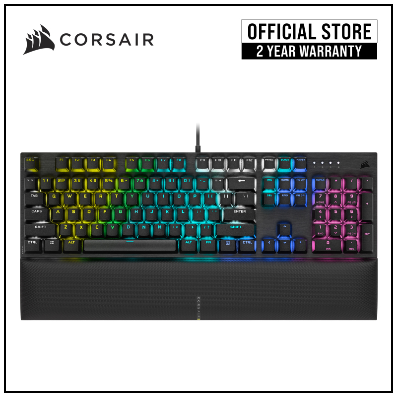 CORSAIR K60 RGB PRO SE Mechanical Gaming Keyboard, Backlit RGB LED, CHERRY VIOLA Keyswitches Singapore