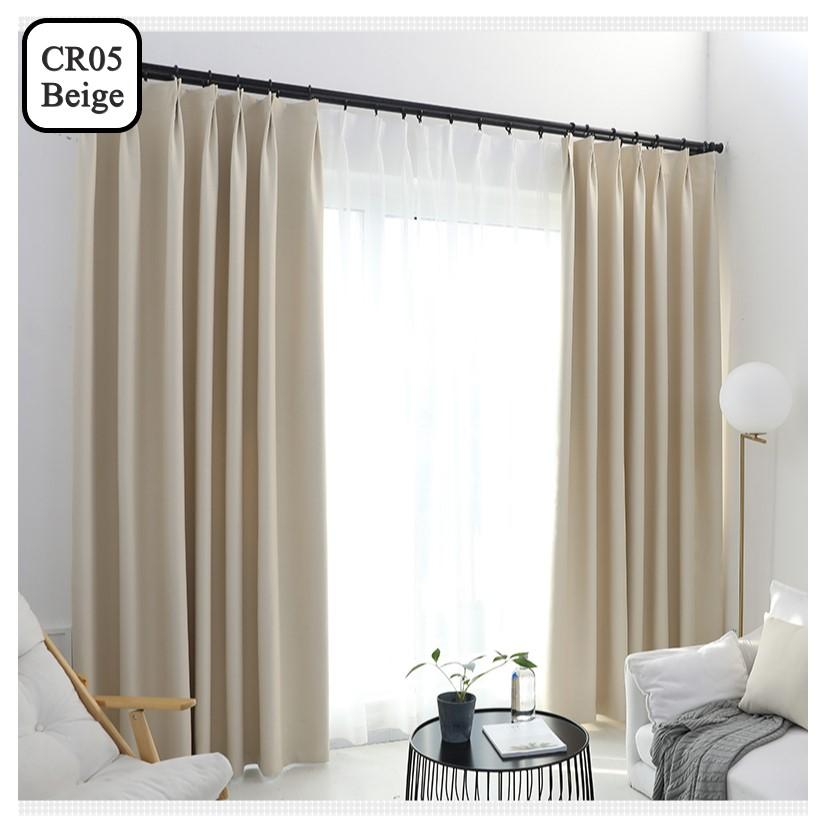 Blackout Curtain with Sunblock Protection