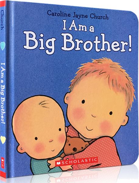 Scholastic I am Big Brother Book