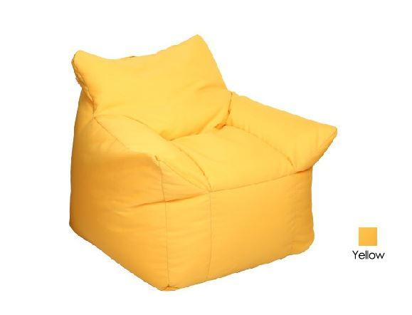 JIJI Canape Floor Bean Chair - Beanbag/ Bean bag Chair /Styrofoam particles filled/ Fabric outer layer/ Washable / small sofa (SG)