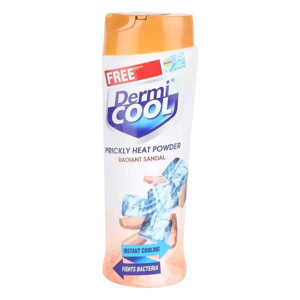 Buy Dermi Cool Prickly Heat Powder Radiant Sandal, 150g- Instant Cooling, Fights Bacteria Singapore