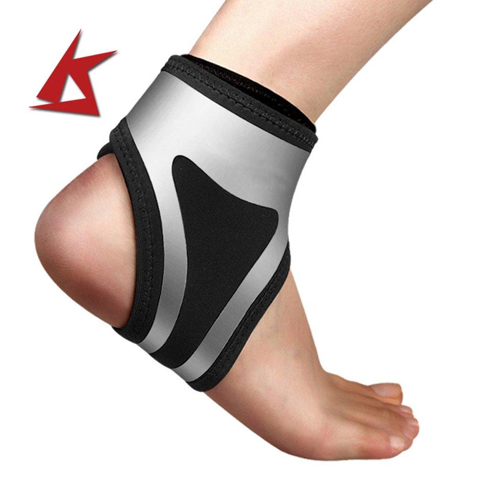 TÍN Quanh Co nén bong gân thể thao bảo vệ cổ chân Cao Bảo Vệ Băng Cổ Chân Thể Thao Thiết Bị Mắt Cá Chân Cuộn Băng Keo