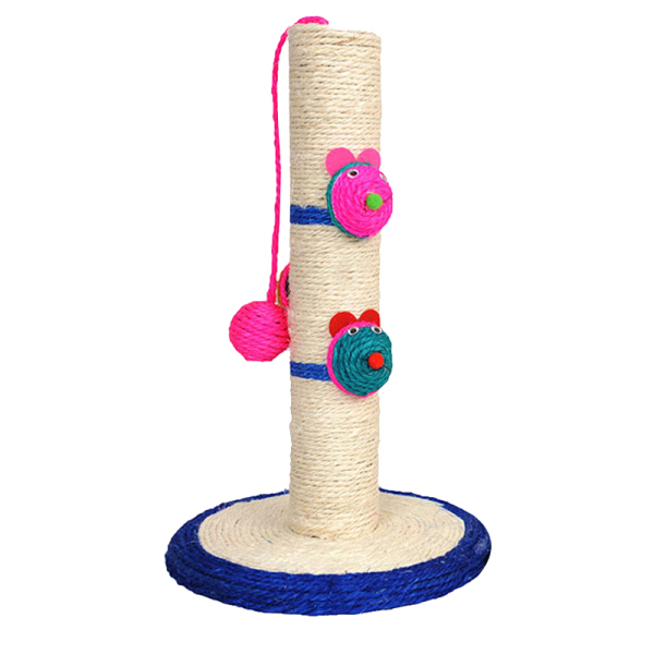 Small Sisal Cat Climbing Frame Scratcher Column Frame Claw-Point Home Pet Products Crawl Tool Cat Tree Cat Grab Stand