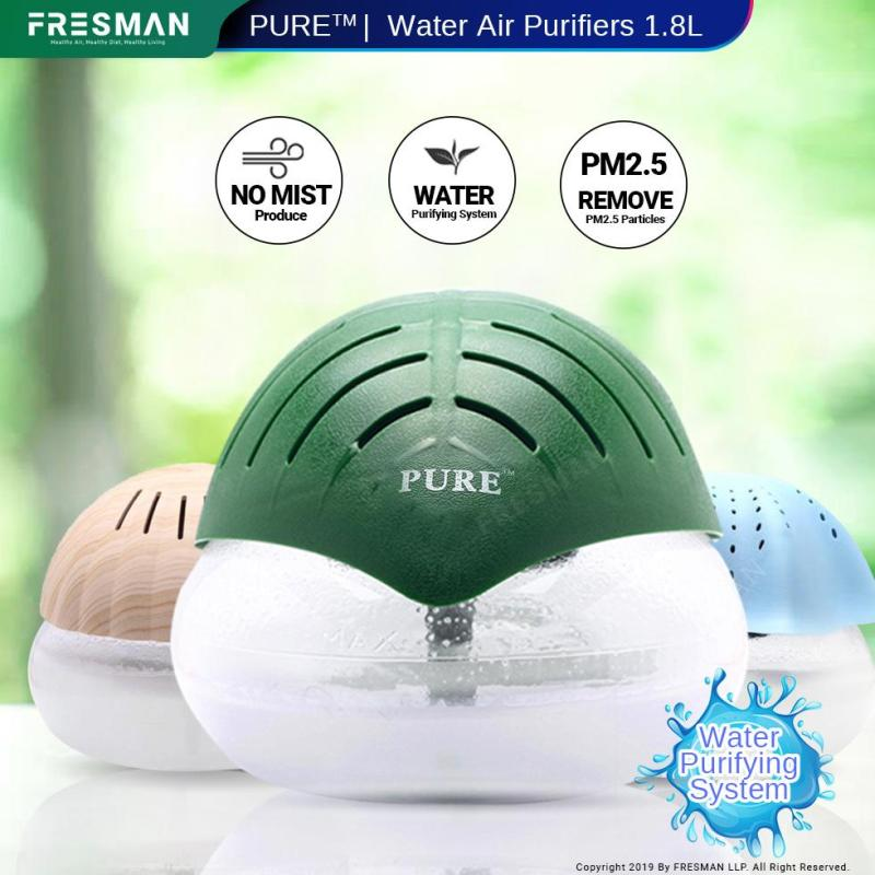 Water Air Revitalizer Purifier 1.8L, Air Freshener, Passive Humidifier Spread Aroma With Water Base Essential Oil Singapore