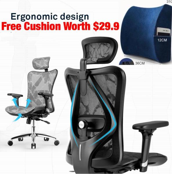 (3 Years Warranty / Free Installation) UMD High-End Ergonomic Full Mesh Chair Modern Executive Chair ( 3 Different Models to Choose:A8 & A9 & M57 ) Singapore