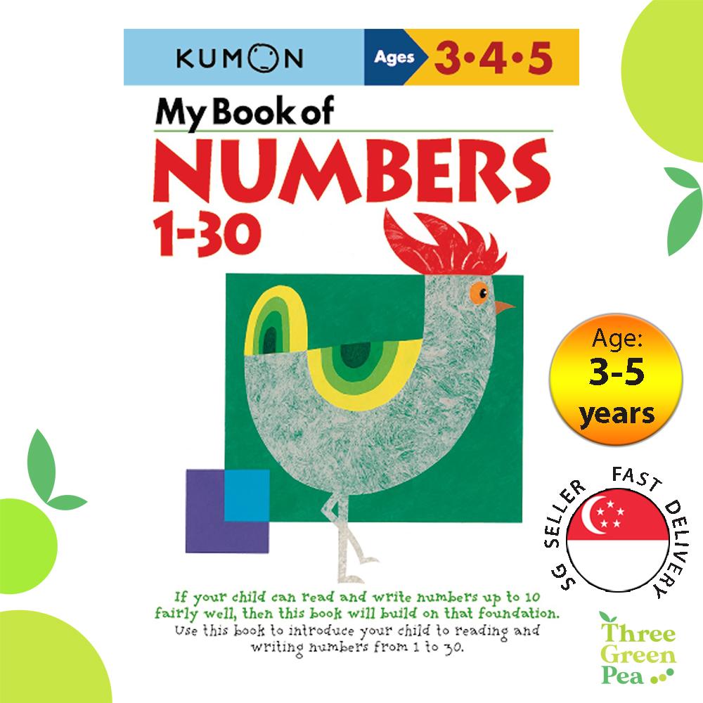 Kumon Math Skills Workbooks - My Book of Numbers 1-30