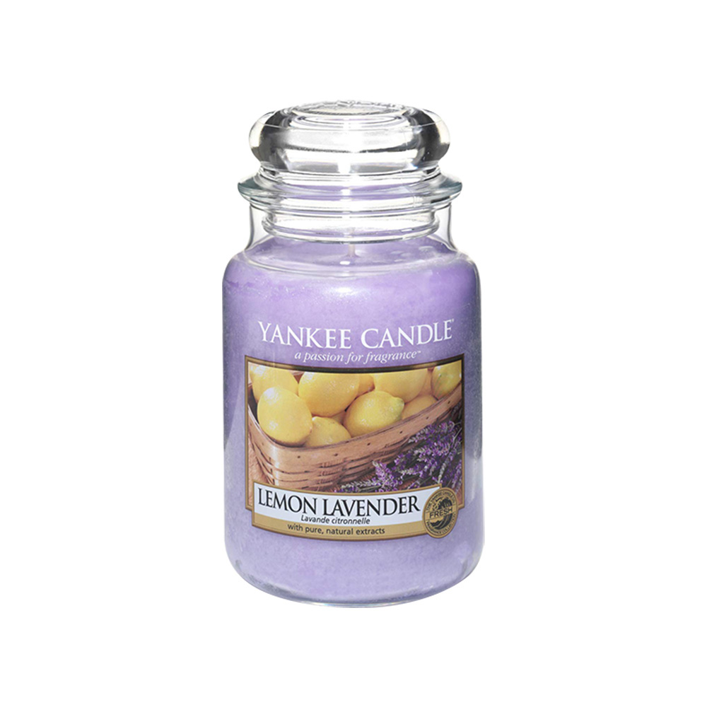 Yankee Candle Large Jar Candles Lemon Lavender 623g