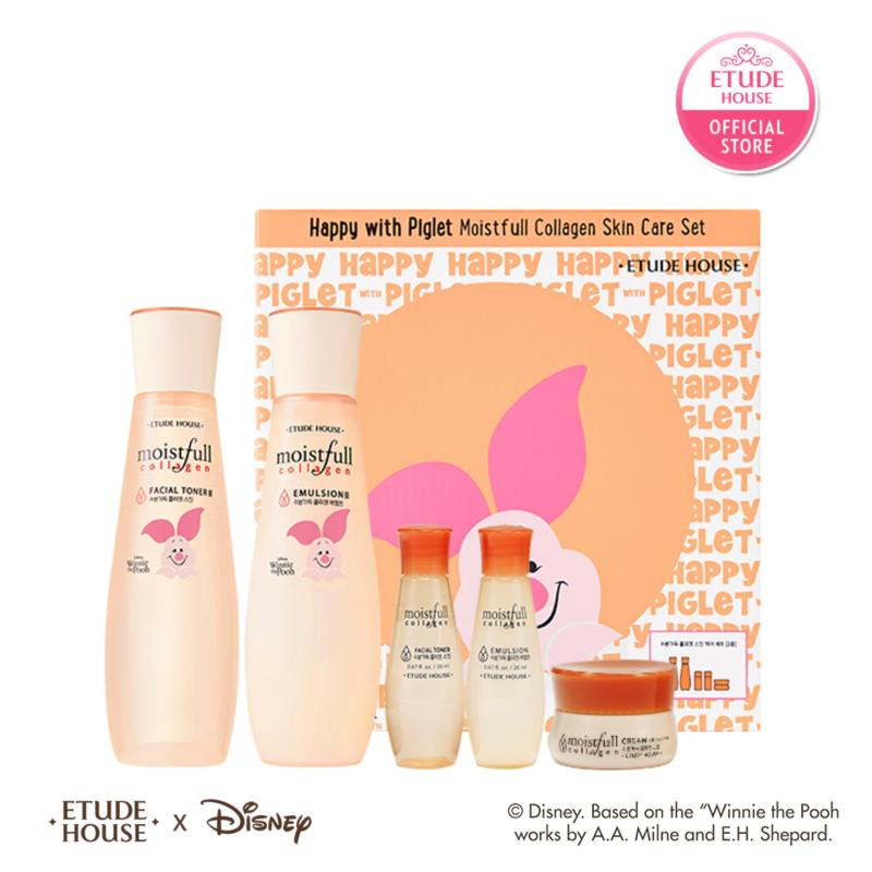 Buy ETUDE HOUSE Happy with Piglet Moistfull Collagen skincare set Singapore
