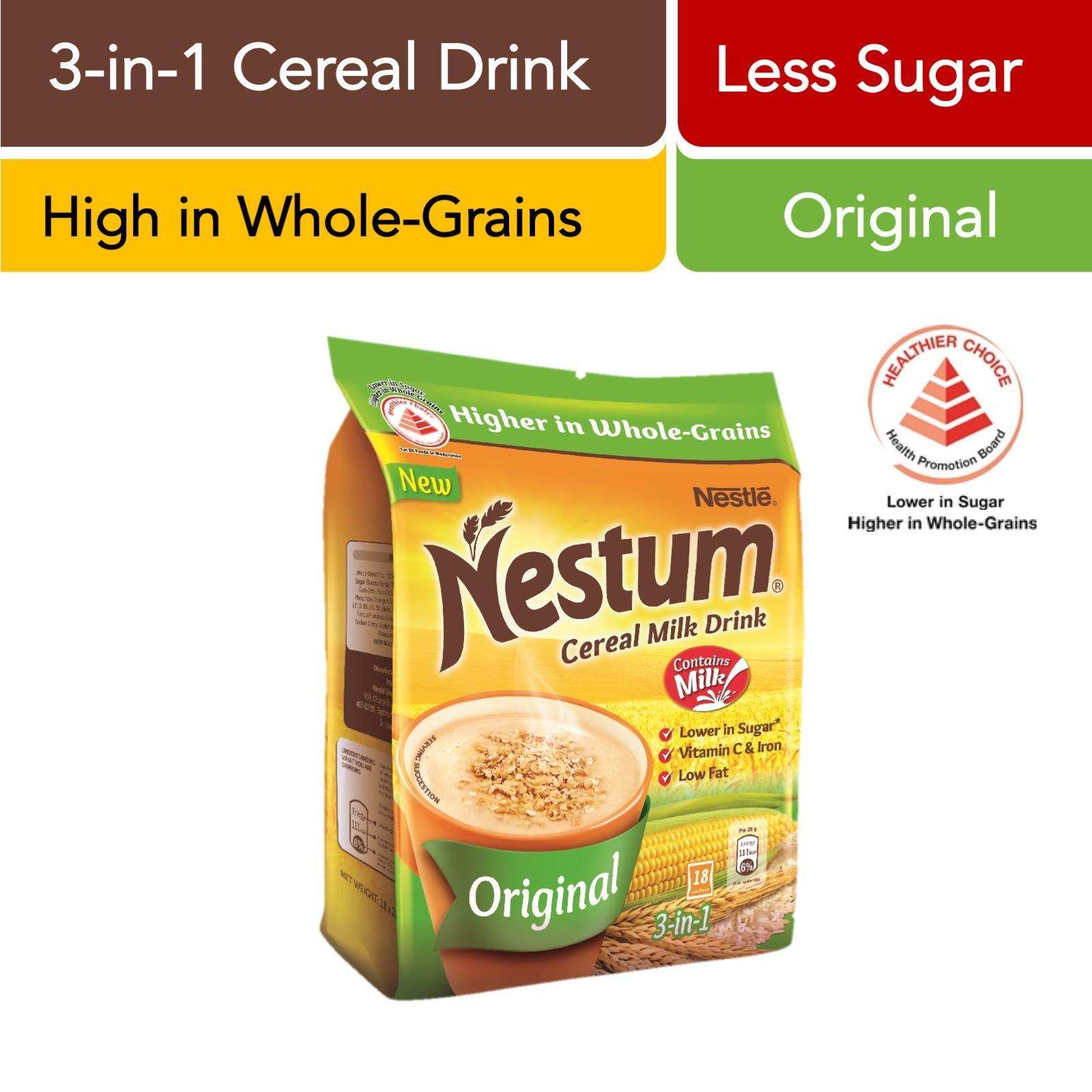 Nestum 3 In 1 Cereal Drink Original By Redmart.