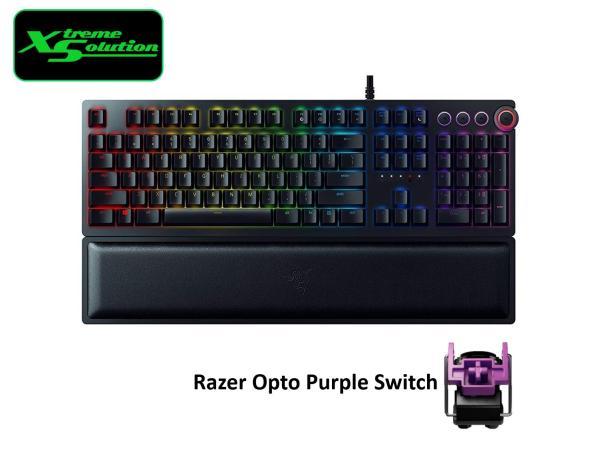 Razer Huntsman Elite Opto Mechanical Gaming Keyboard (Clicky / Linear) Singapore